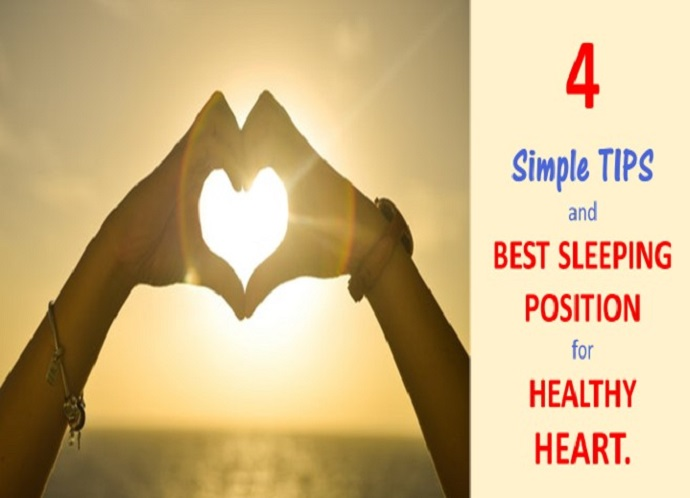 4 Simple Tips And Best Sleeping Position For Healthy Heart Simply Comfortable Sleep